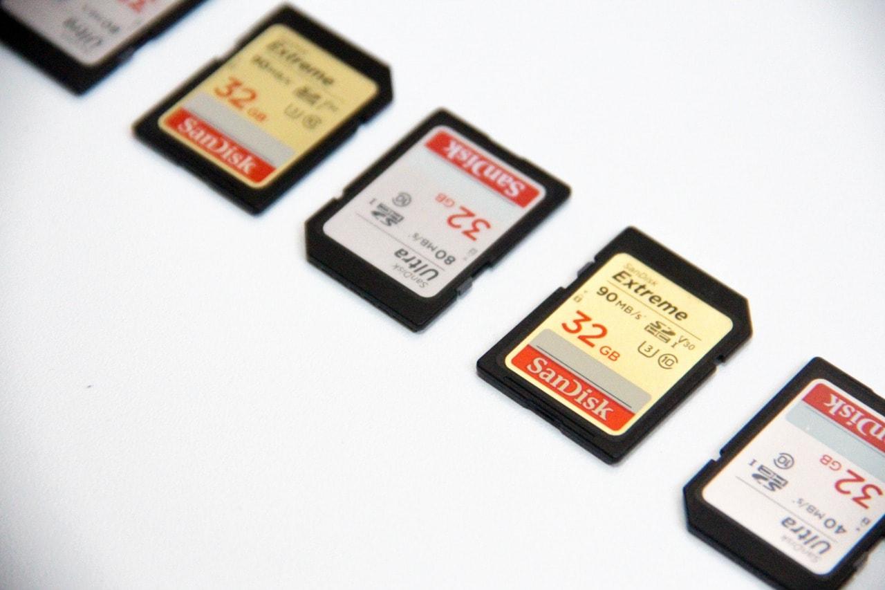 SDカード上書きでありがちな例